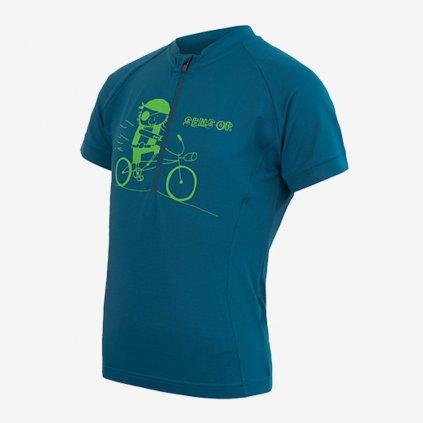 Dětský dres Cyklo Entry 1/2- modrý