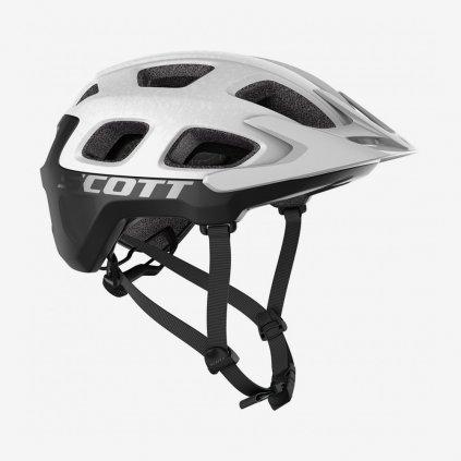 Cyklistická přilba Scott Vivo Plus - černobílá