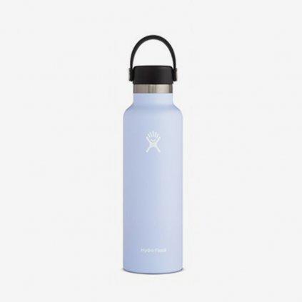 Láhev Hydro Flask Standard Mouth Flex Cap - bílošedá