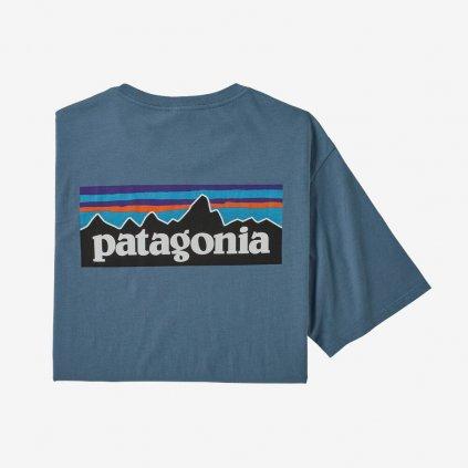 Pánské tričko P-6 Logo - modré