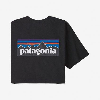 Pánské tričko P-6 Logo Responsibili - černé