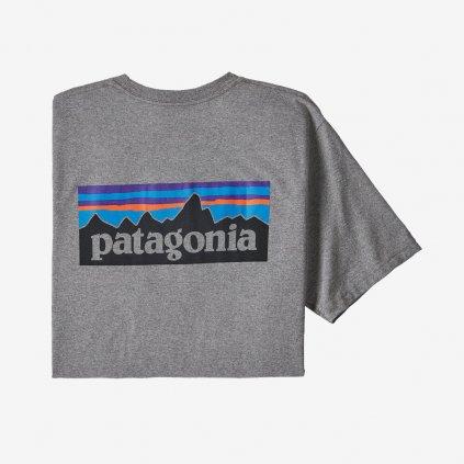 Pánské tričko P-6 Logo Responsibili - šedé