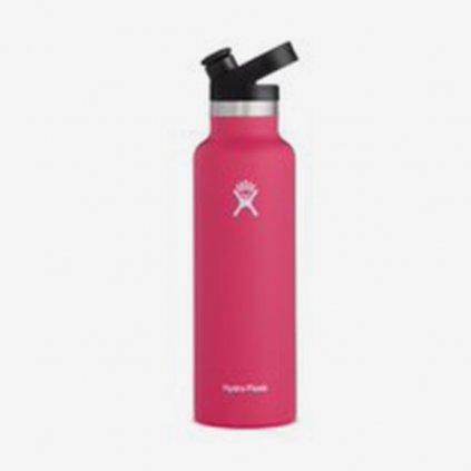 Láhev Hydro Flask Mouth Sport Cap -světle růžová