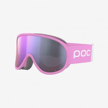 Lyžařské brýle POC Retina Clarity Comp - Růžové/Růžové sklo