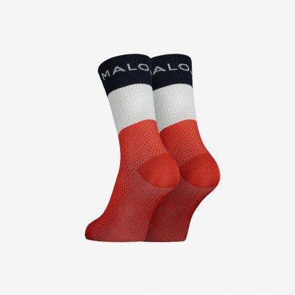 Ponožky Maloja WaldmeisterM - červené