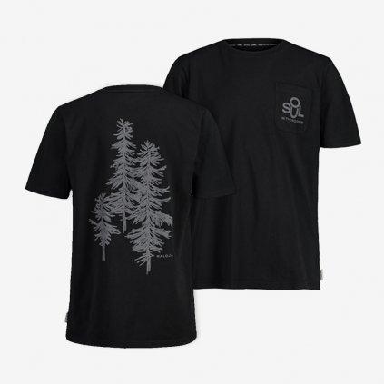 Pánské tričko Maloja SanddornM - černé