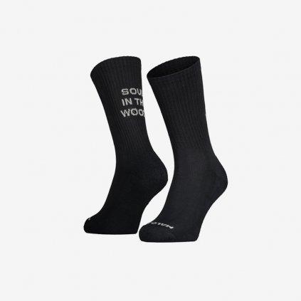 Ponožky Maloja BushM - černé