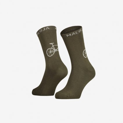 Ponožky Maloja StalkM - zelené
