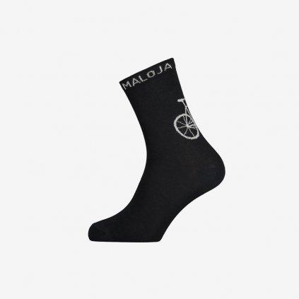 Ponožky Maloja StalkM - černé