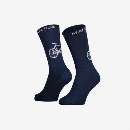 Ponožky Maloja StalkM - modré