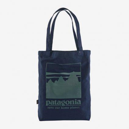 Plátěná taška Patagonia - tmavě modrá