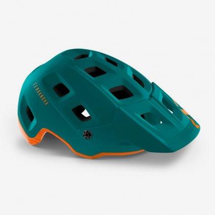 Cyklistická helma MET TERRANOVA alpine - tmavě zelená