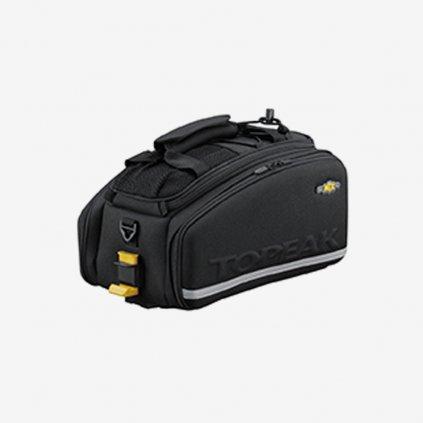 TOPEAK brašna na nosič MTX TRUNK Bag EXP s bočnicemi - černá