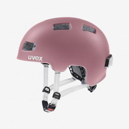 Cyklistická helma UVEX CITY 4 - růžová