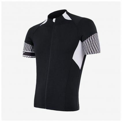 SENSOR CYKLO RACE pánský dres kr.rukáv - černý