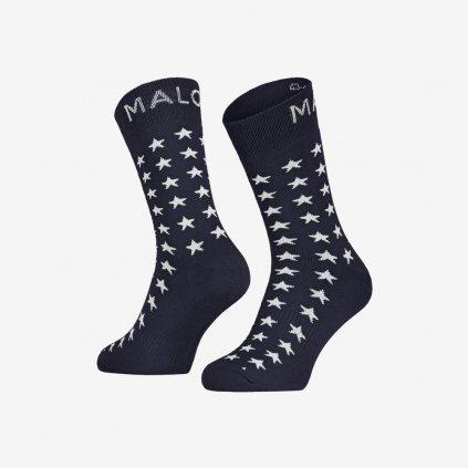 Ponožky Maloja ForsythieM - Modré