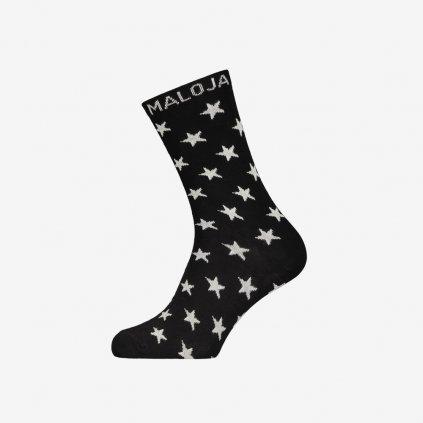 Ponožky Maloja HedenbraunelleM - Černé
