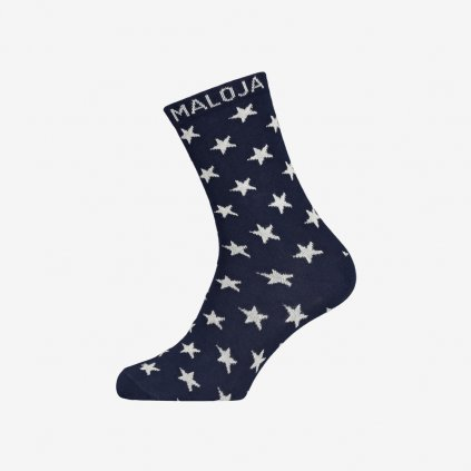 Ponožky Maloja HedenbraunelleM - Modré