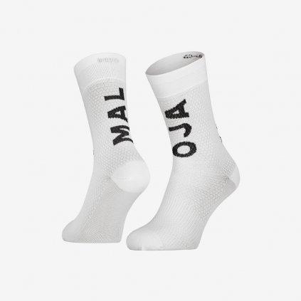 Ponožky Maloja SchaumkrautM - Bílé