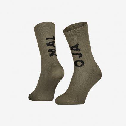 Ponožky Maloja SchaumkrautM - Zelené