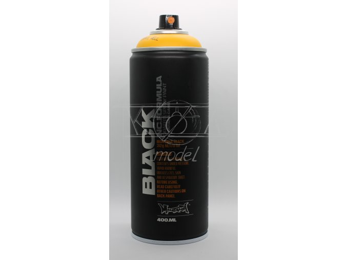 Montana BLACK 400 ml - Žlutá (Pionýr)