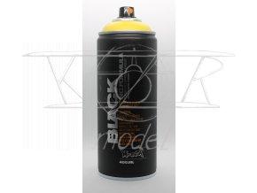 Montana BLACK 400 ml - Žlutá (Čmelák)