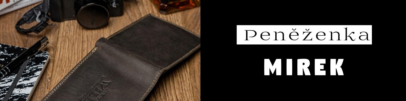 Mirek, Adam, proč takový název peněženky?