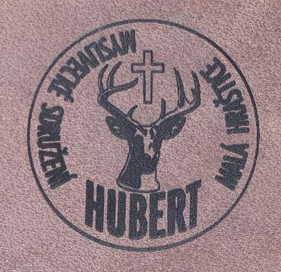 logo mysliveckého sdružení pálení do kůže