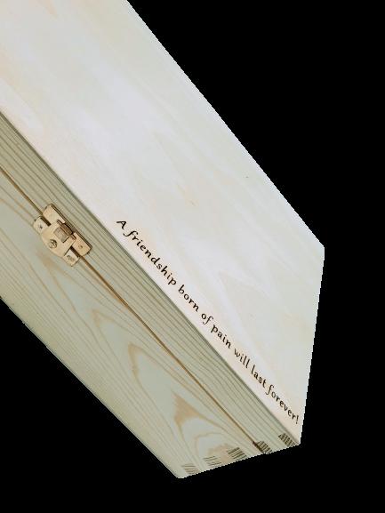 Text na dárkové krabici