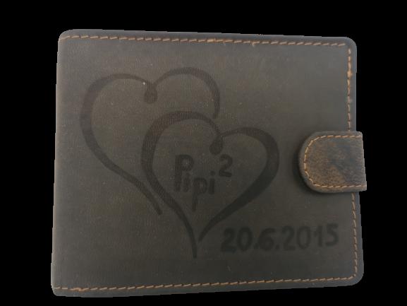 peněženka s přáním