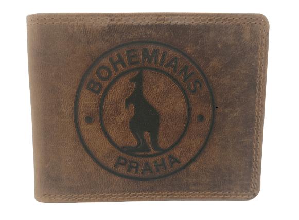 Znak fotbalového klubu na peněžence