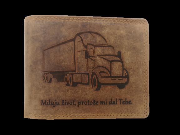 peněženka pro kamioňáka