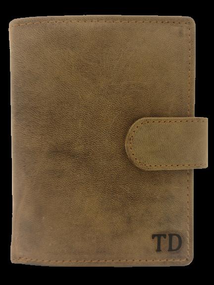 peněženka s monogramem