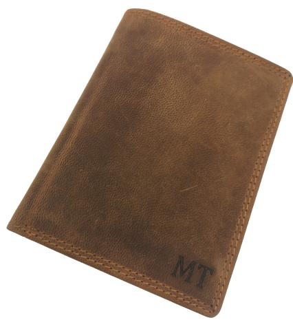Pánská peněženka s monogramem