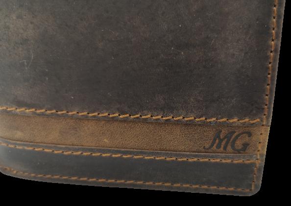 Peněženka s iniciály