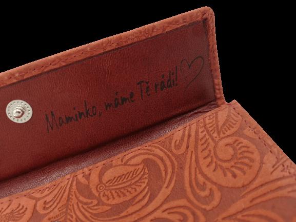 Dámská peněženka s přáním