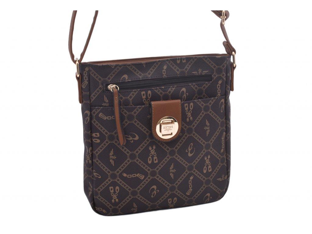 Dámská kabelka s vzorem