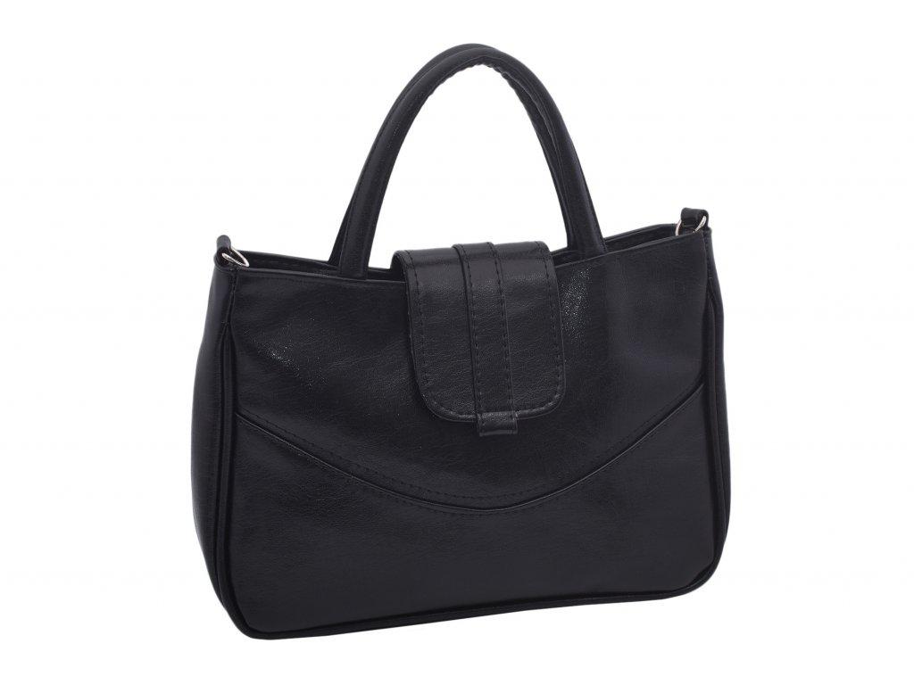 Dámská klasická kabelka Alena (Barva Černá)