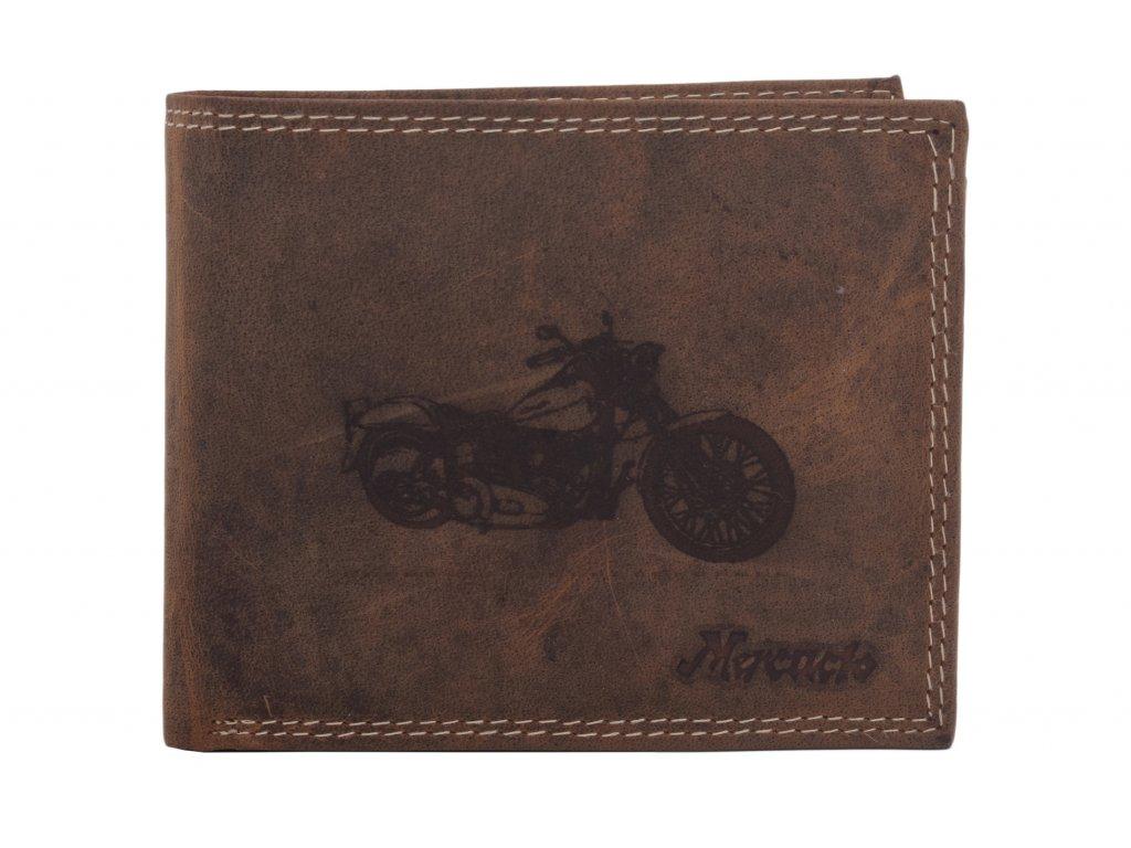 Pánská peněženka motiv motorka