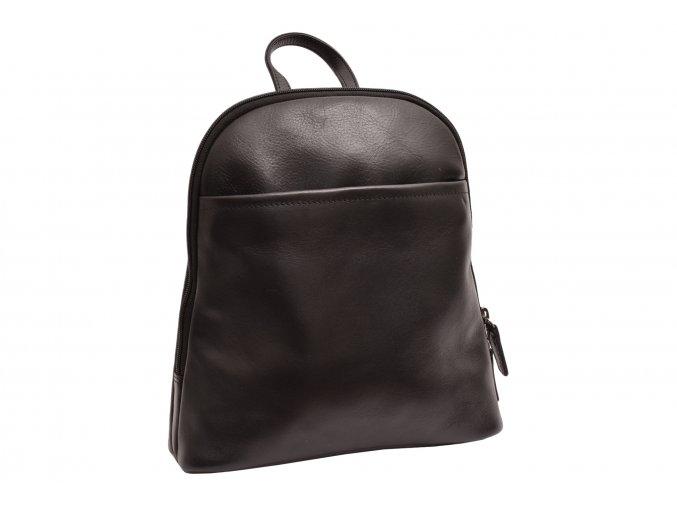 Moderní dámský kožený batoh