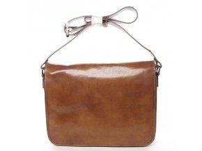 Moderní kožená taška na notebook