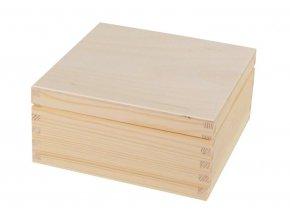 Dřevěná krabička dárková