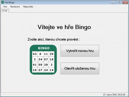 Obrazovka Bingo 1
