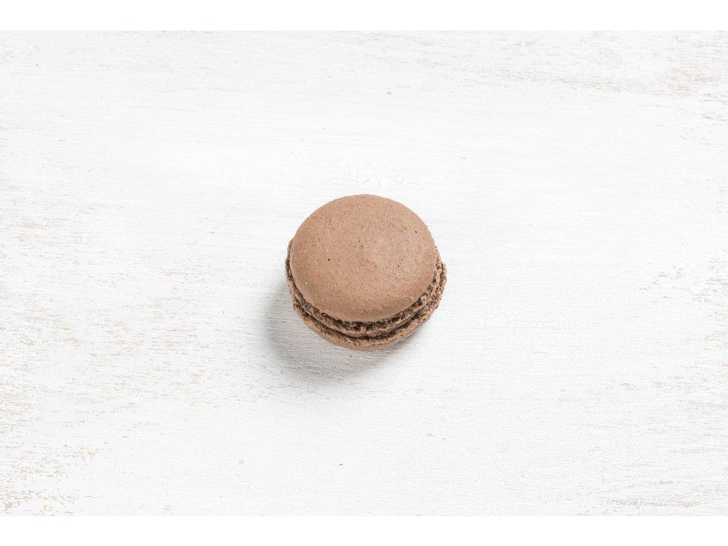 Makronka čokoláda