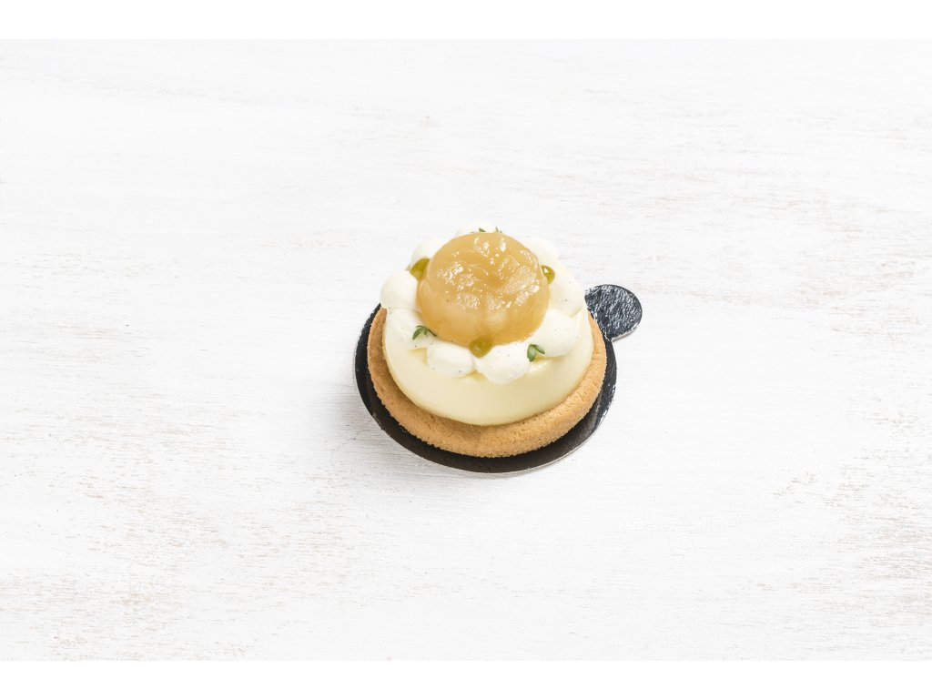 Cheesecake zelené jablko
