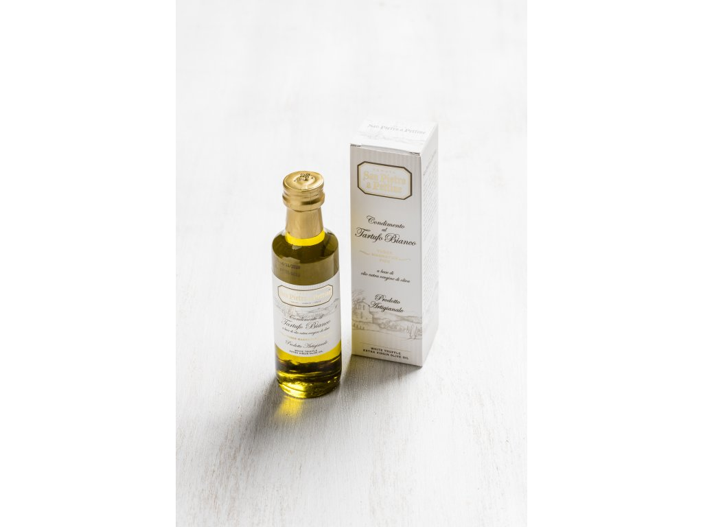 Panenský olivový olej s příchutí bílých lanýžů San Pietro
