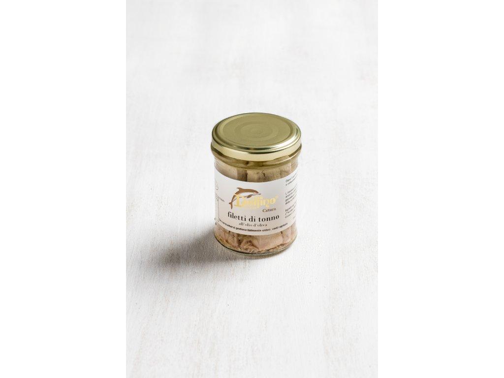 Filetti di tonno all'olio d'oliva