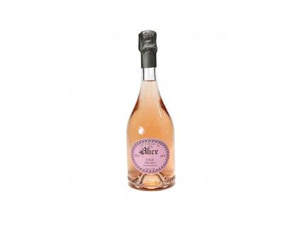 le vigne di alice spumante brut nature rose ose
