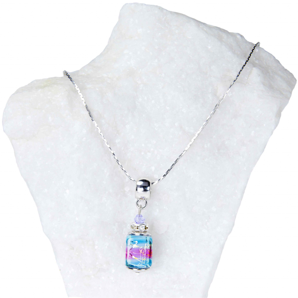 483 damsky nahrdelnik vivienne z lampovych perel lampglas