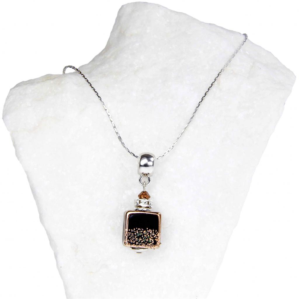 594 1 damsky nahrdelnik hazel symphony z lampovych perel lampglas